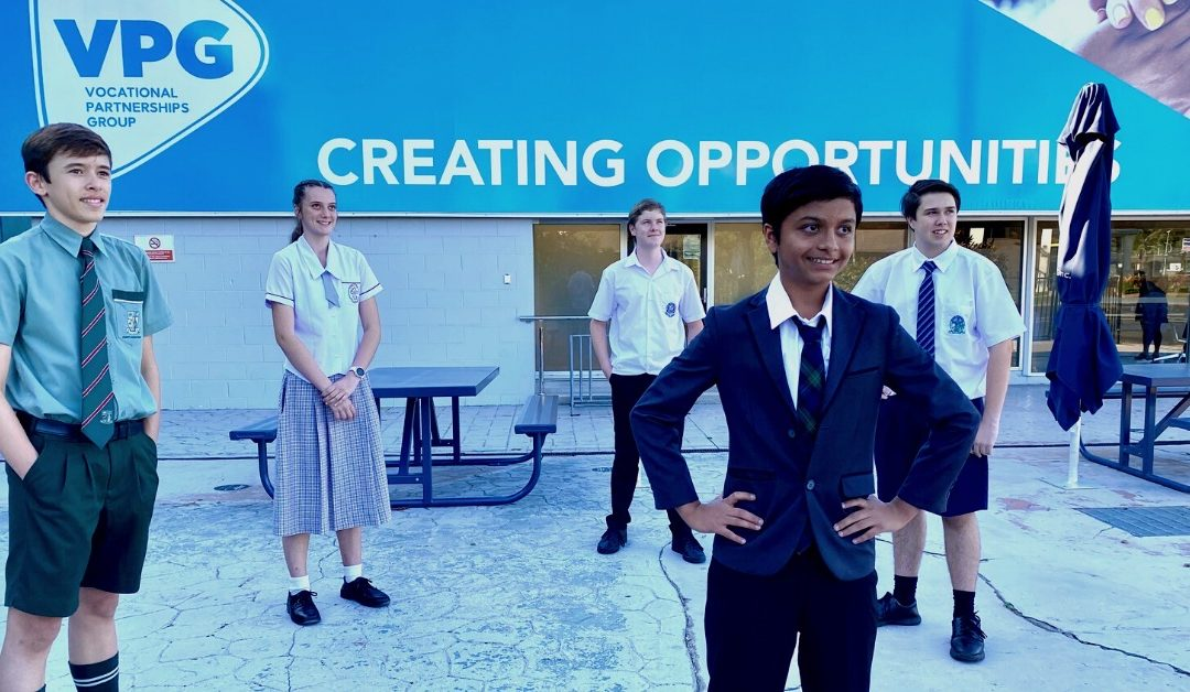 Highschool students on the hunt for work experience opportunities